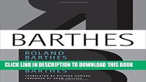 [Read PDF] Roland Barthes by Roland Barthes Download Free
