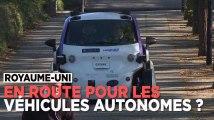 Royaume-Uni : premier test public de voitures sans chauffeur