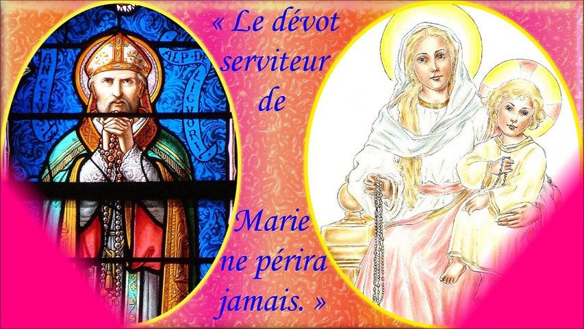 F48. Le saint Rosaire & le possédé albigeois (récit de St Louis-Marie Grignion de Montfort)