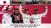 Entretien avec Jean-Louis Moncet après le Grand Prix du Japon 2016
