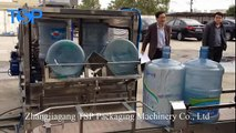 Automatic 5 gallon jar 20L water bottle loading, washing, filling and capping machine 300BPH