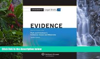 READ NOW  Casenote Legal Briefs: Evidence Keyed to Park and Friedman, 12th Edition (with Evidence