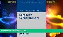 Big Deals  European Corporate Law  Full Read Best Seller