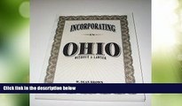 Big Deals  Incorporating in Ohio: Without a Lawyer (Incorporating Without a Lawyer)  Best Seller