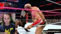 WWE Raw 10/10/16 Cesaro vs Kofi Kingston