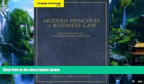 Books to Read  Cengage Advantage Books: Modern Principles of Business Law: Contracts, the UCC, and