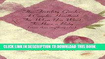 [PDF] The Fertility Guide: A Couples Handbook for When You Want to Have a Baby (More Than Anything