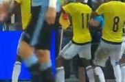 Colombia 1-0 Uruguay  Aguilar Goal 11-10-2016