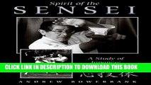 New Book Spirit of the Sensei: A Study of Japanese Martial Arts