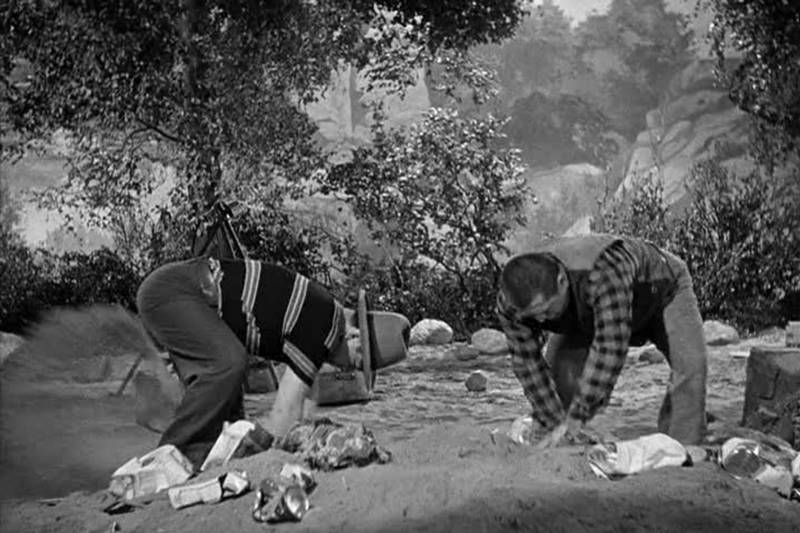 Image result for The Three Stooges: Yes, We Have No Bonanza (1939)