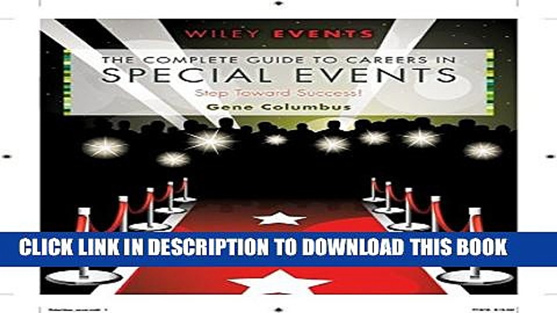 Collection Book The Complete Guide to Careers in Special Events
