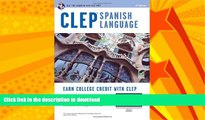 READ  CLEP® Spanish Language Book + Online (CLEP Test Preparation) (English and Spanish
