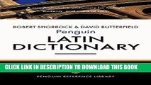 Collection Book The Penguin Latin Dictionary: A Comprehensive Dictionary for Today s Students and