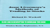 [PDF] Jesse Livermore s methods of trading in stocks Full Colection