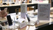 Samsung halts sales of Galaxy Note 7 amid renewed reports of fires
