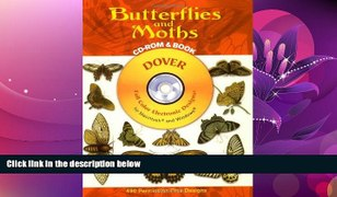 For you Butterflies and Moths CD ROM and Book Dover Electron
