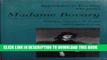 [PDF] Flauberts Madame Bovary -OS (Approaches to Teaching World Literature) Full Collection