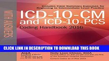 [PDF] ICD-10-CM and ICD-10-PCS Coding Handbook, with Answers, 2016 Rev. Ed. Full Colection
