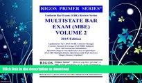 READ BOOK  Rigos Primer Series Uniform Bar Exam (UBE) Review Series Multistate Bar Exam: MBE