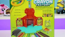 Crayola Crayon Factory Play Kit | DIY Fun & Easy Make Your Own Crayon Molds!
