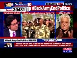 Om Puri VS Arnab Goswami In Indian Live Show