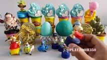 PLAY DOH SURPRISE EGGS with Surprise Toys,Disney,  Shrek,Dota 2,Ice Age,Rio 2,Surprise Eggs Video, Videos for Kids, Egg
