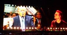 Bono Vox arrasa Donald Trump de forma criativa durante concerto dos U2