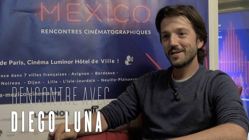 Diego Luna : la star de Star Wars, Rogue One au Festival Viva Mexico (interview)
