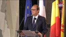"""François Hollande parle de Julie Gayet : """"C'est une belle femme, une fille bien"""" (VIDEO)"""