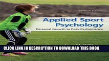 [PDF] Applied Sport Psychology: Personal Growth to Peak Performance Full Online