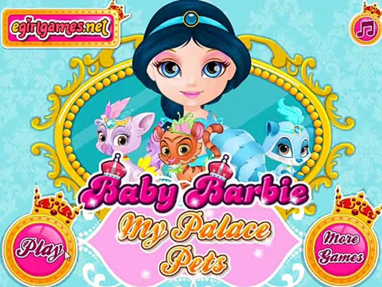 Baby Barbie My Palace Pets - Малышка Барби Дворец животных