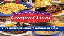 Collection Book Favorite Brand Name Comfort Food (Favorite Brand Name/Best-Loved Recipes)