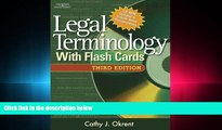 read here  Legal Terminology with Flashcards (West Legal Studies)