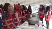 Sivas Kızılay, Sivas'ta Bin Kişilik Aşure Dağıttı