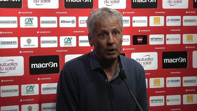 Foot - L1 - OGCN : Favre «On ne va pas présenter Lyon»