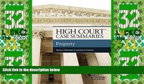 Must Have PDF  High Court Case Summaries, Property (Keyed to Dukeminier)  Best Seller Books Best