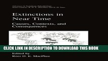 [PDF] Extinctions in Near Time: Causes, Contexts, and Consequences (Advances in Vertebrate
