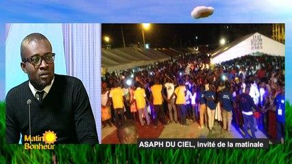 Assaph du ciel, invité de la Matinale de RTI 1 du 12 octobre 2016 avec Marième Touré