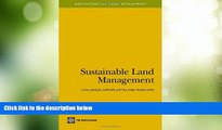 Big Deals  Sustainable Land Management: Challenges, Opportunities, and Trade-Offs (Agriculture and