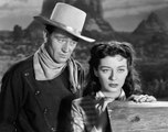 Angel and the Badman (1947) - John Wayne, Gail Russell, Harry Carey - Feature (Romance, Drama, Western)