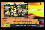 VIDEO: recuento de los desmayos ocurridos en televisión