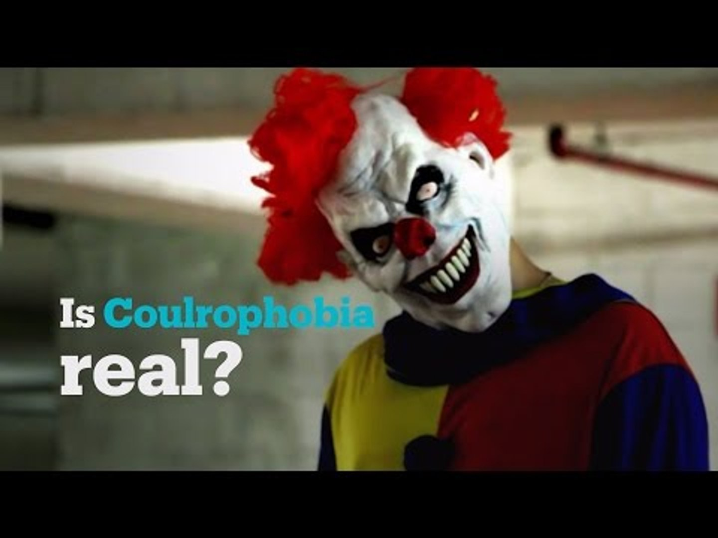 Is fear of clowns a real phobia?
