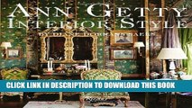 [PDF] Ann Getty: Interior Style Popular Collection
