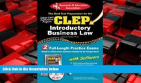 FREE PDF  CLEP® Introductory Business Law with CD (CLEP Test Preparation)  FREE BOOOK ONLINE