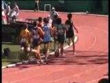 Finale du 800m Cadet des championnats de France jeunes 2007