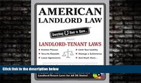 EBOOK ONLINE  American Landlord Law: Everything U Need to Know About Landlord-Tenant Laws