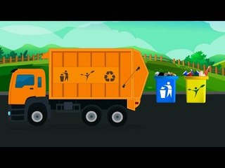 Мусоровоз | для самых маленьких зрителей | Garbage Truck