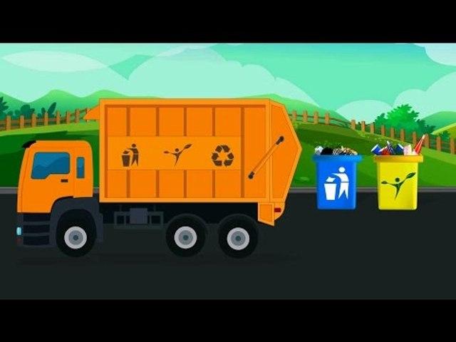 Мусоровоз   для самых маленьких зрителей   Garbage Truck