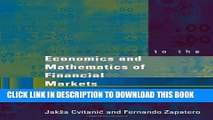 [PDF] Introduction to the Economics and Mathematics of Financial Markets Full Colection