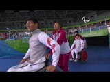 Day 7 evening | Wheelchair Fencing highlights | Rio 2016 Paralympic Games